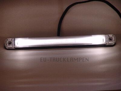 LED UMRISSLEUCHTE - LICHTLEITERTECHNINK MIT 2 LED - WEIß - 242 x 28 MM