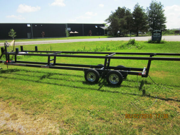 Used 2013 Other Wolverine pontoon scissor trailer