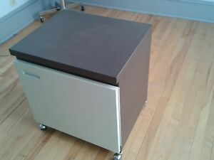 Photocopier metal cabinet