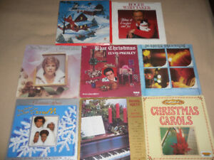 8 Christmas LPs for $5