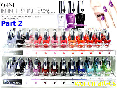 10 Day Base (OPI Infinite Shine Polish Nail Lacquer Color Base Top Last Up To 10 Days/ Part 2 )