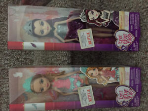 New! Ever after high dolls
