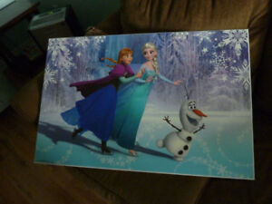 For Sale - Elsa Anna and Olaf poster