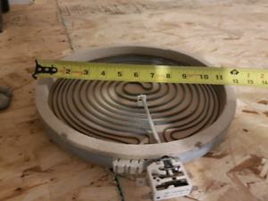 GE flat surface electric stove radiant element