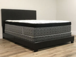 "**15"" Thick, Double Luxury Pocket Coil Mattress**"