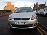 FORD FIESTA 1.4 zetec climate 2007 Petrol Manual in Silver