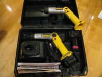 Dewalt 2 Tournevis 7.2 Volt #DW920 + 2 Batteries
