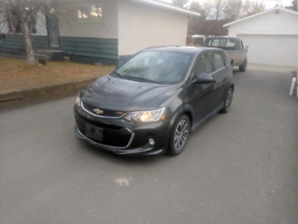 2017 Chevy Sonic LT RS package