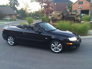 2007 Saab 9-3 Convertible 6 speed excellent