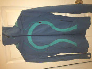 Blue Lululemon Define scuba jacket hoodie Medium Retails 112$