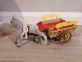 Sylvanian families horse & cart