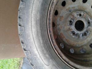 4 pneus hiver 205/ 65/ R15