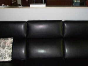 Sofa and chair for sale.   Professionally reupholstered