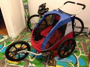 Chariot bicycle trailer and stroller