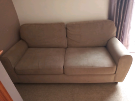 Two seater sofa from Next