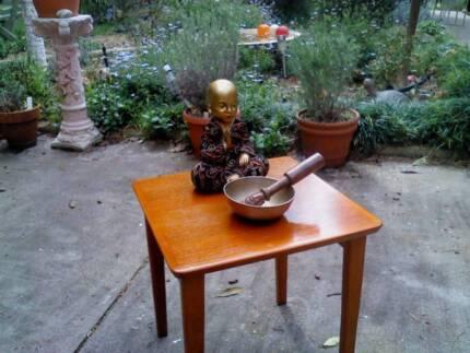 *FuNkY* Mid Century Retro Danish Style Teak Single Side Table