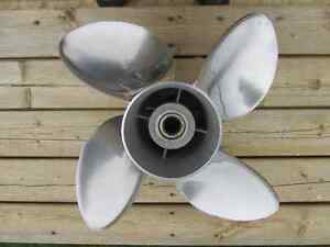 Solas 14.25 x 19 Pitch 4 Blade Stainless Prop!! Offers!!