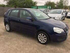 VW POLO 2008/57 1.4 SE 80 PETROL - AUTOMATIC - LOW MILEAGE - 1LADY OWNER FRM NEW