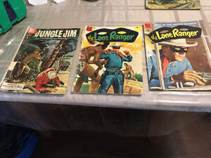 10 and 12 cent mostly western comics