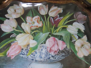 BEAUTIFUL TRAY, England - Painting by Stephanie Hoppen,