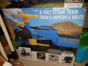6v ride-on train with real steam and sounds! London Ontario image 1