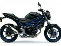 Suzuki SV650 PRE REG ON 21 PLATES WITH 5.9% APR 2021