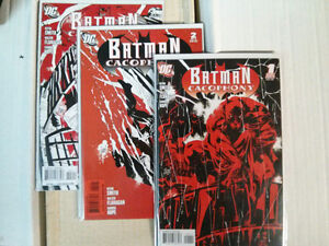 Batman Cacophony #1, 2, 3 complete comic set from Kevin Smith