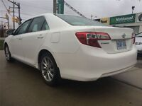 2014 White Toyota Camry Lease take over.