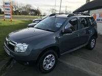 2013 13 Dacia Duster 1.5 dCi 110 BHP 4X4 Ambiance 49,000 MILES 4WD