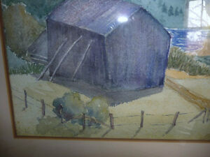 Co-Worker with Group of Seven,T. W. McLean, Original Watercolor Stratford Kitchener Area image 6