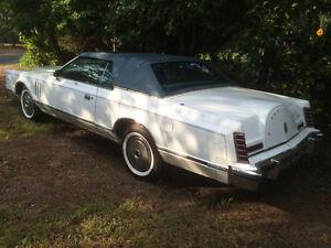 1978 Lincoln Continental Mark V 65,000 miles estate sale