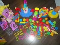 ensemble outils de plasticine lots play-doh