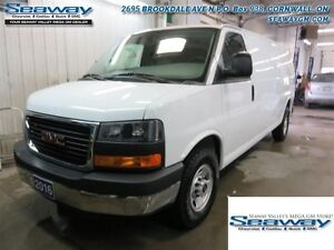 2016 GMC Savana Cargo Van 1WT  -  Power Windows -  Power Doors -