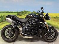 Triumph Speed Triple 1050 ABS 2013 Special paint on tank!
