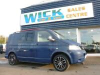 2008 Volkswagen TRANSPORTER T5 T28 TDI SWB WINDOW Van *BLUE* Manual Medium Van