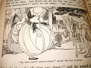 1940s rare WARTIME ANDERSEN'S FAIRY TALES plates Anne Anderson Cambridge Kitchener Area image 10
