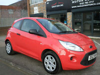 2012 Ford Ka 1.2 ( 69ps ) ( s/s ) Studio 3DR 12 REG Petrol Red