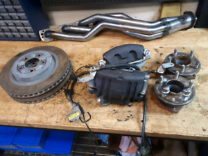 2016 Challenger Complete Front Brake Assembly plus other parts