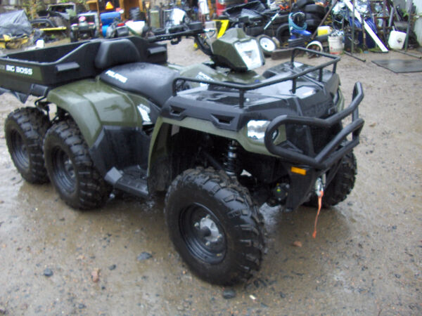 Used 2014 Polaris 6x6 big boss