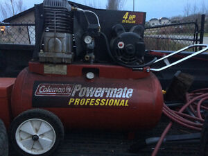 Coleman 4 horse 20 gallon air compressor