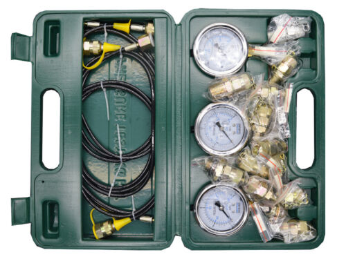 Hydraulic Pressure Test Kit 8+1 Test Coupling For Excavator Industrial guage