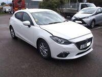 2015 Mazda 3 2.0 SKYACTIVE SE-L DAMAGED REPAIRABLE SALVAGE