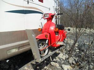 motor bike holder