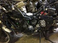 Honda CBR 1000F complete Engine running 1995 model
