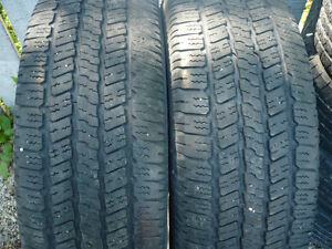 "2- P275/65R18"" TRUCK TIRES"