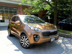 2017 Kia Sportage EX,BackUp Cam,PushStart,Factory Warranty