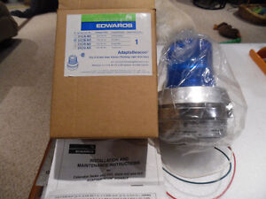Edwards  Adapta Beacon Flashing Light w/ Horn 51C-N5 Blue 51CB-