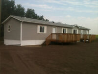 Acreage Mobile Home for Rent