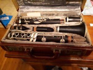 Noblet Paris Clarinet Circa 1940's in box