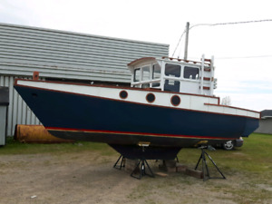 22ft converted sailboat